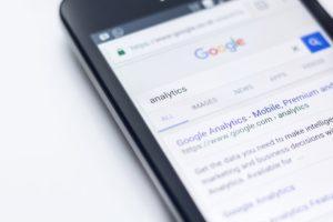 Google SERP page SEO