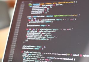 Code on computer, 2020 content marketing trends, VIEWS Digital Marketing Agency